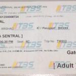 Tiket Bas ke Singapore dari TBS