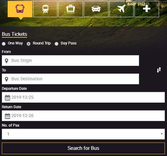 Easybook Bus Online Ticket